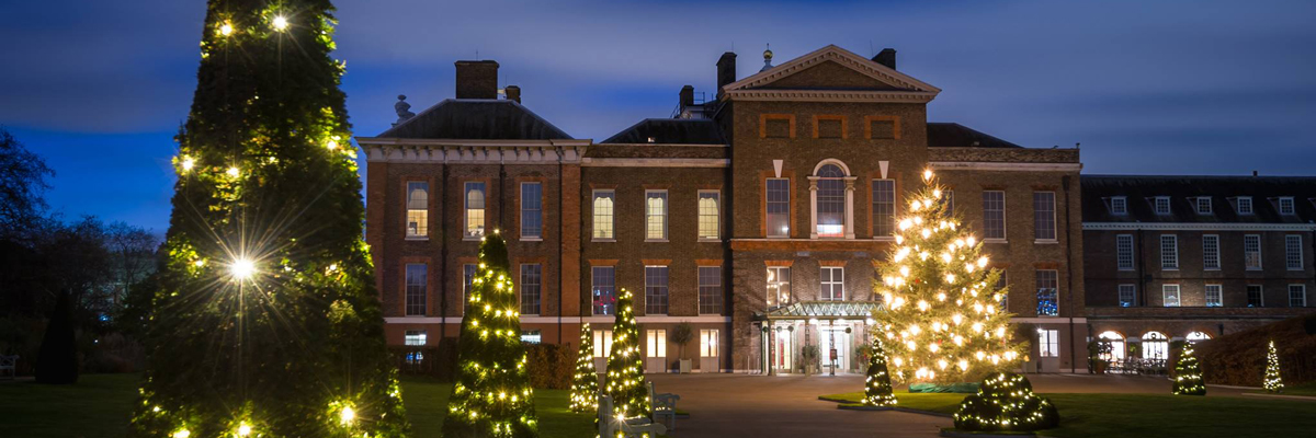 Kensington Palace at Christmas