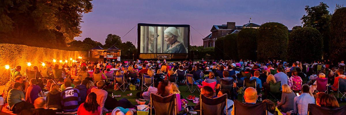 Enjoy a night of cinema under the stars at Kensington Palace