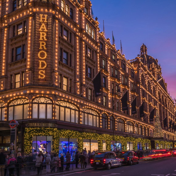 Luxury Retailer Harrods, London