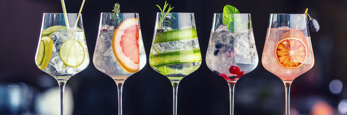 Stock Image of Cocktails
